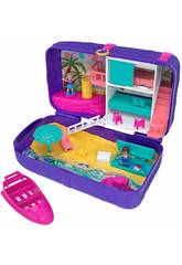 Polly Pocket Mochila Vacaciones En La Playa Mattel FRY40