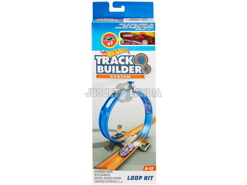 Hot Wheels Track Builders Kit Loopings Mattel FPF04