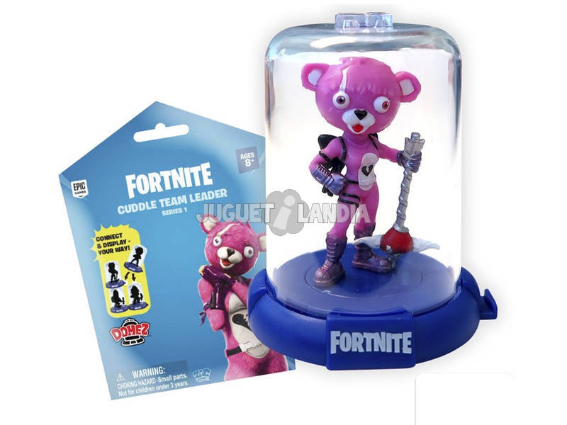 Fortnite Figura Domez di 7,5 cm. Serie 1