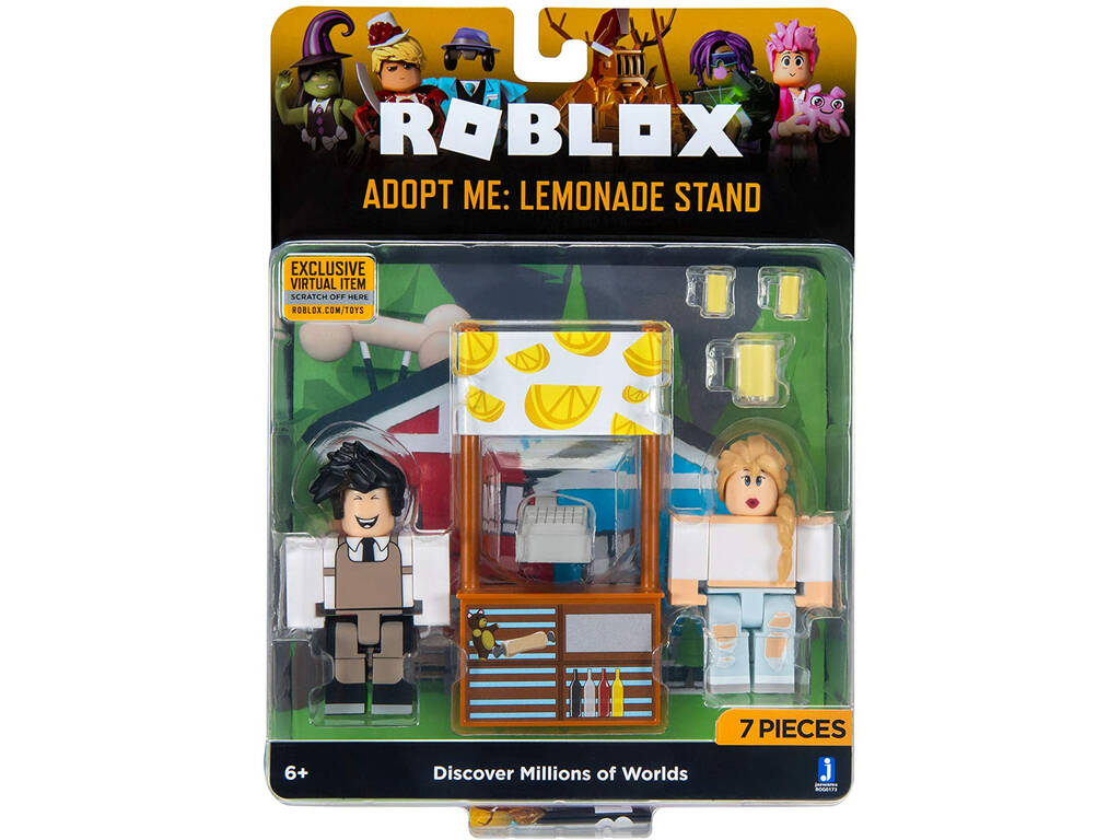 Roblox Game Pack Celebrity 2 Figuras con Accesorios