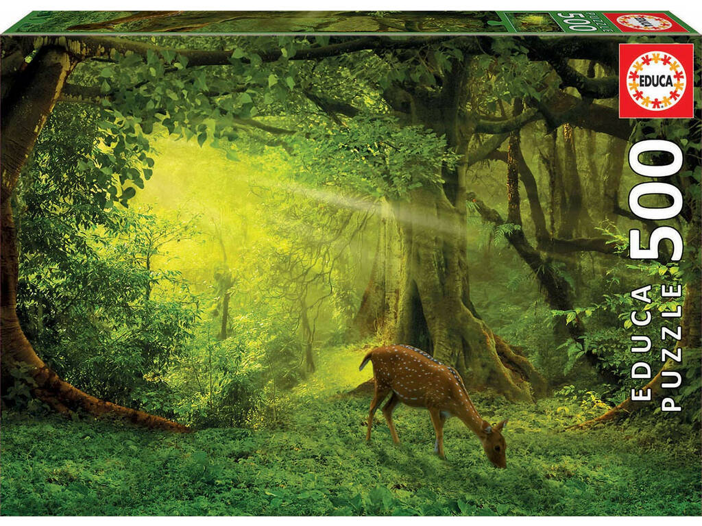 Puzzle 500 Piccolo Cervo Educa 17958