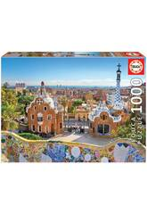 Puzzle 1.000 Barcellona dal Parc Güell Educa 17966