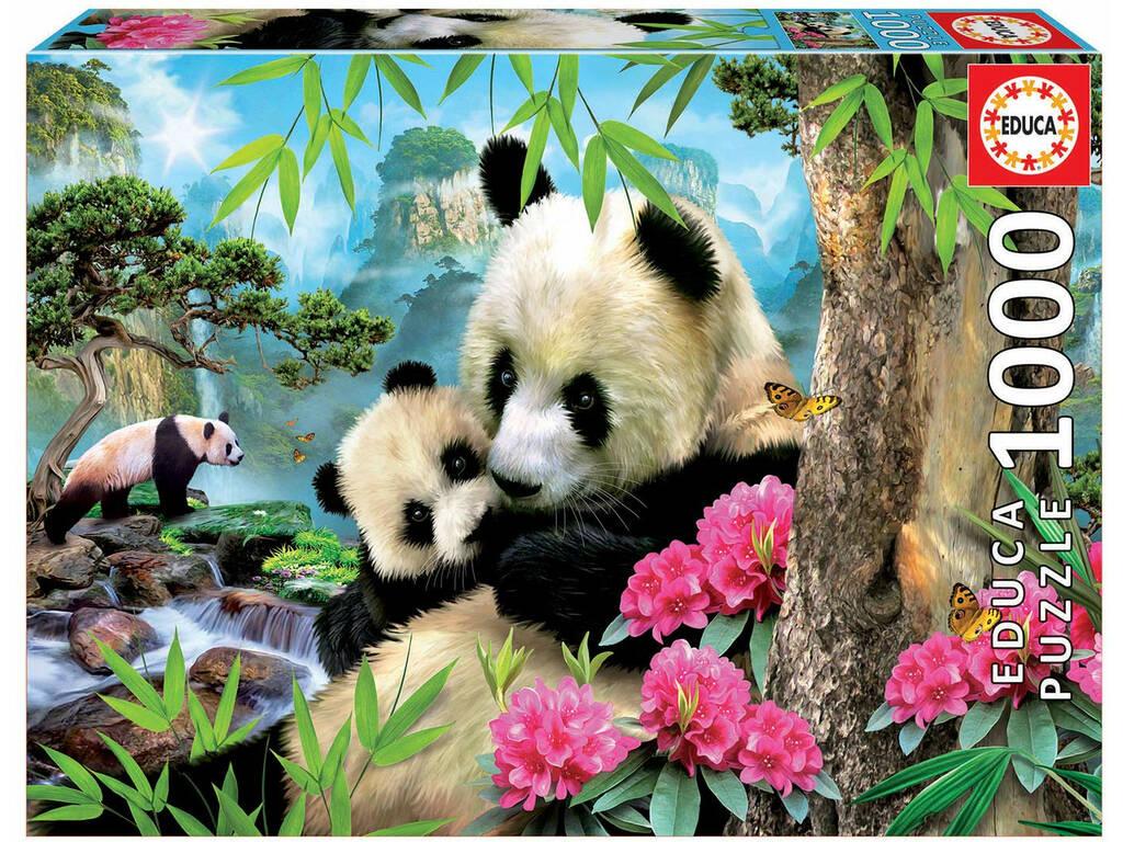Puzzle 1.000 Osos Panda Educa 17995