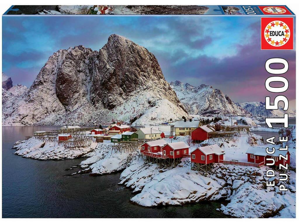 Puzzle 1.500 Ilhas Lofoten Noruega Educa 17976