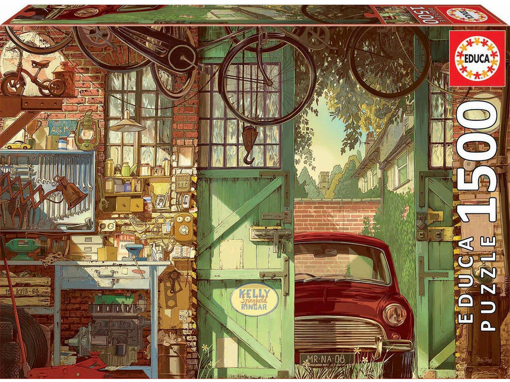 Puzzle 1.500 Old Garage Arly Jones Educa 18005