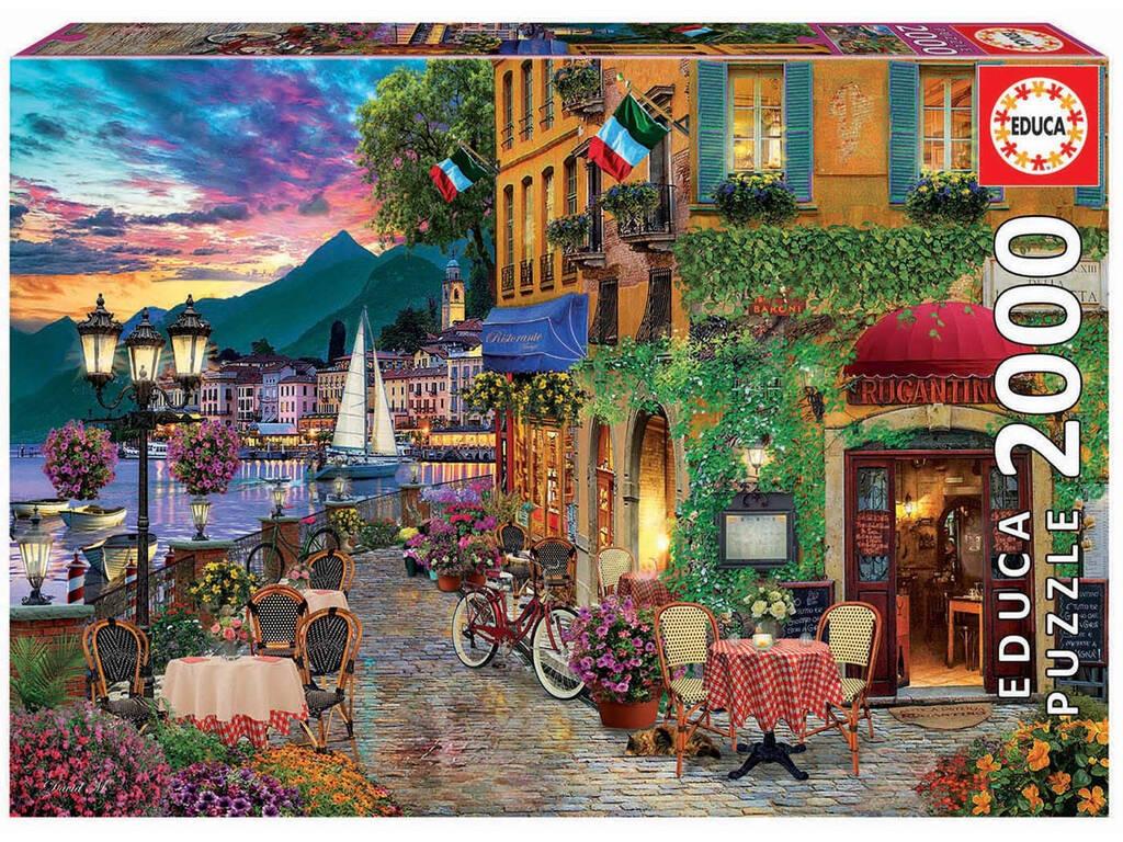 Puzzle 2000 Italian Fascino Educa 18009