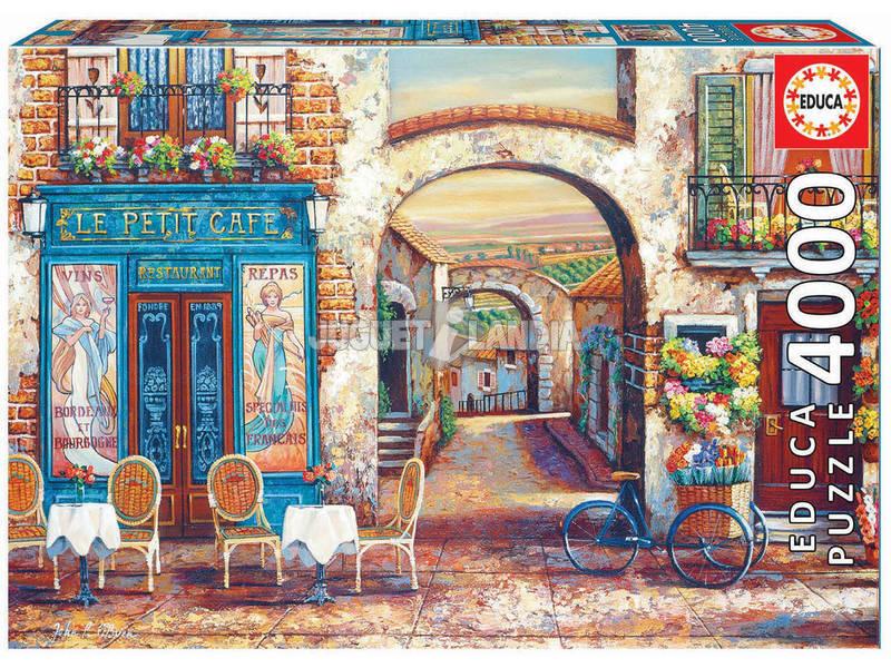 Puzzle 4.000 Le Petit Café Educa 18014