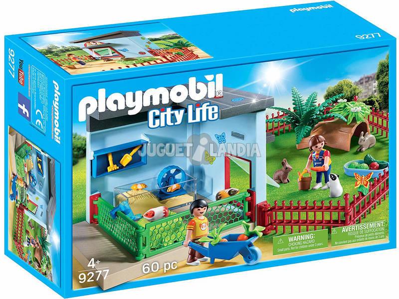 Playmobil Quarto das Pequenas Mascotes 9277