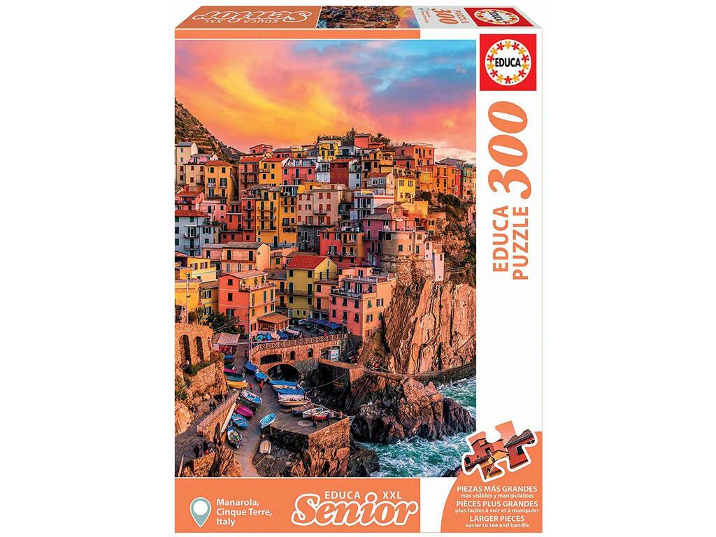 Puzzle 300 Manarola Cinque Terre Itália Educa 17980