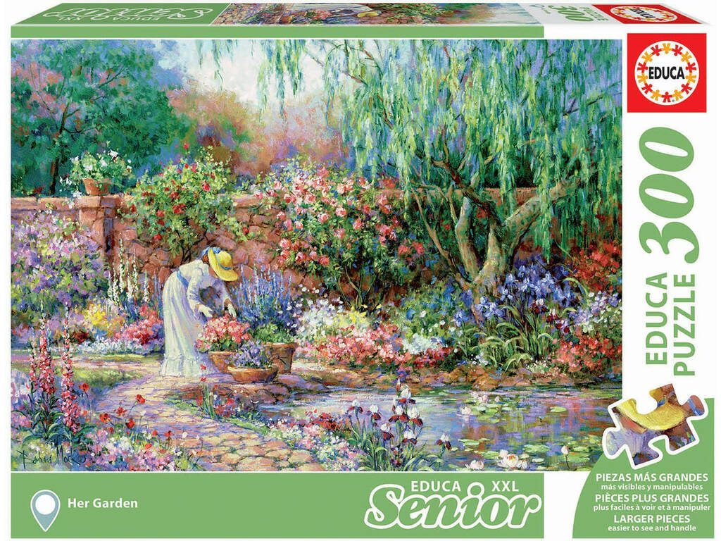 Puzzle 300 Son Jardin Educa 17981