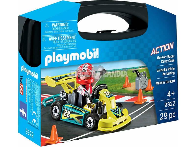Playmobil Maletín Go Kart 9322