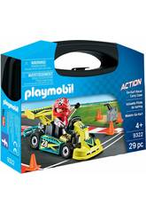 Playmobil Action Valigetta Pilota di Karting 9322