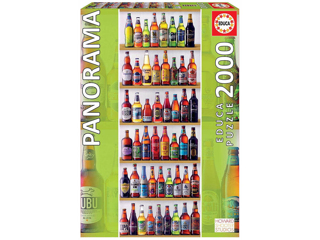 Puzzle 2.000 Cervejas Do Mundo Panorama Educa 18010