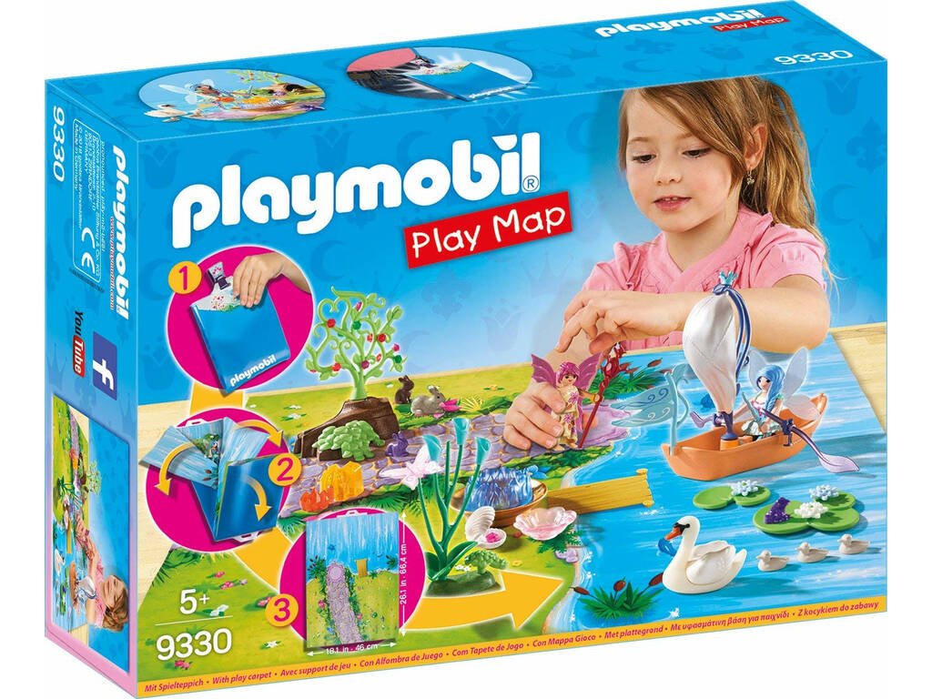 Playmobil Play Map Hadas de Jardín 9330