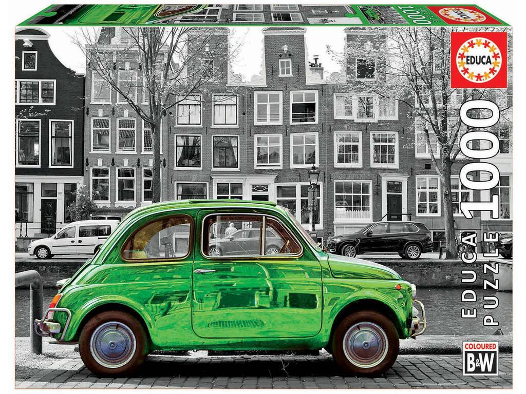 Puzzle 1.000 Auto Ad Amsterdam Educa 18000