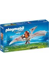 imagen Playmobil Enano con Máquina Voladora 9342