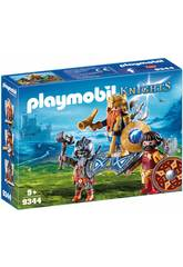 Playmobil Knights Re Guerriero 9344