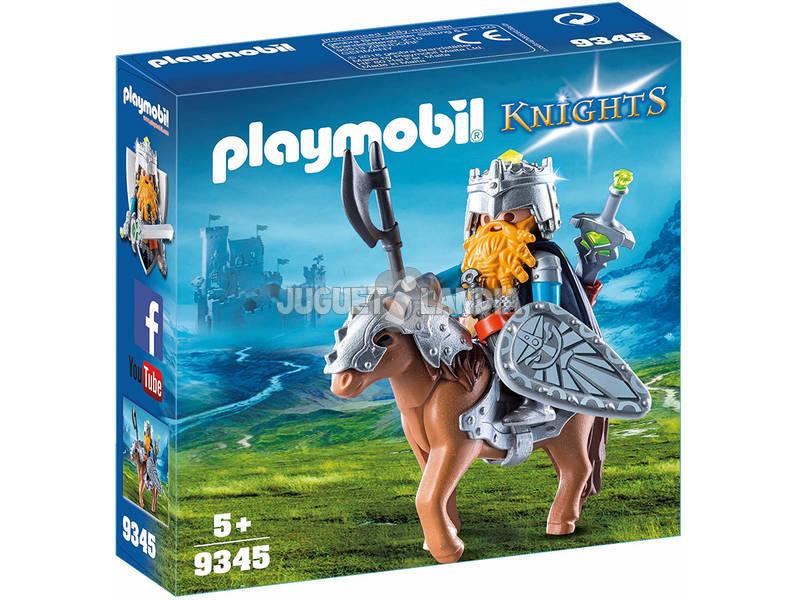 Playmobil Knights Guerriero con cavallo corazzato 9345