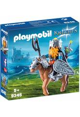 imagen Playmobil Caballero Enano con Poni 9345