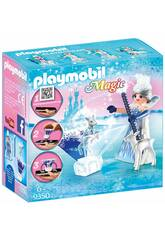 imagen Playmobil Princesa Cristal de Hielo Playmogram 3D 9350