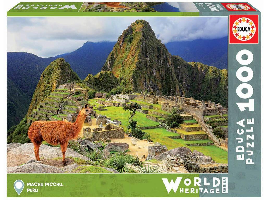Puzzle 1.000 Peças Machu Picchu Educa 17999