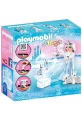 Playmobil Magic Playmogram Principessa Delle Stelle Di Ghiaccio 3D 9352