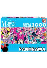 Puzzle 1.000 Minnie Mouse Panorama Educa 17991