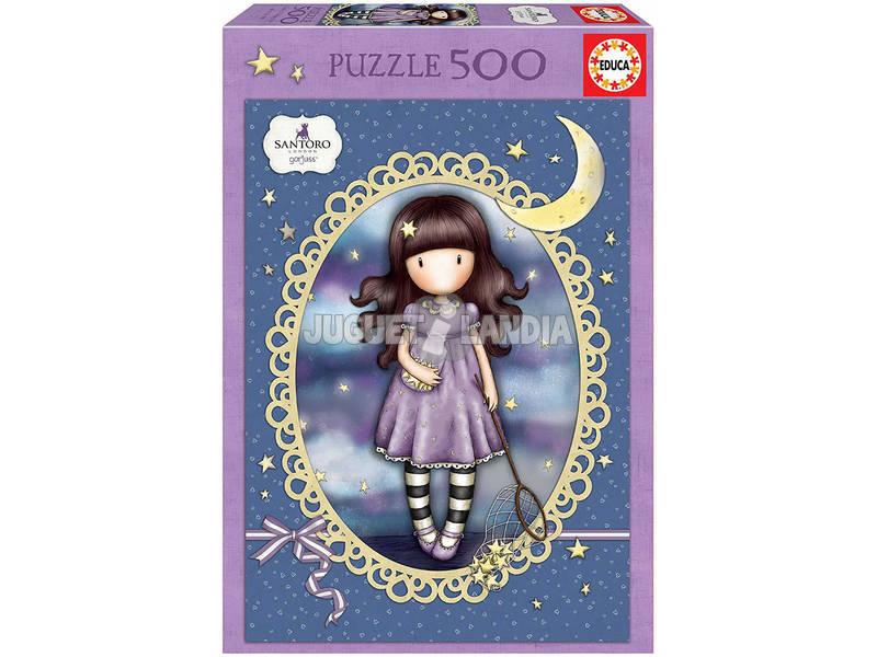 Puzzle 500 Catch a Falling Star Gorjuss Educa 17990