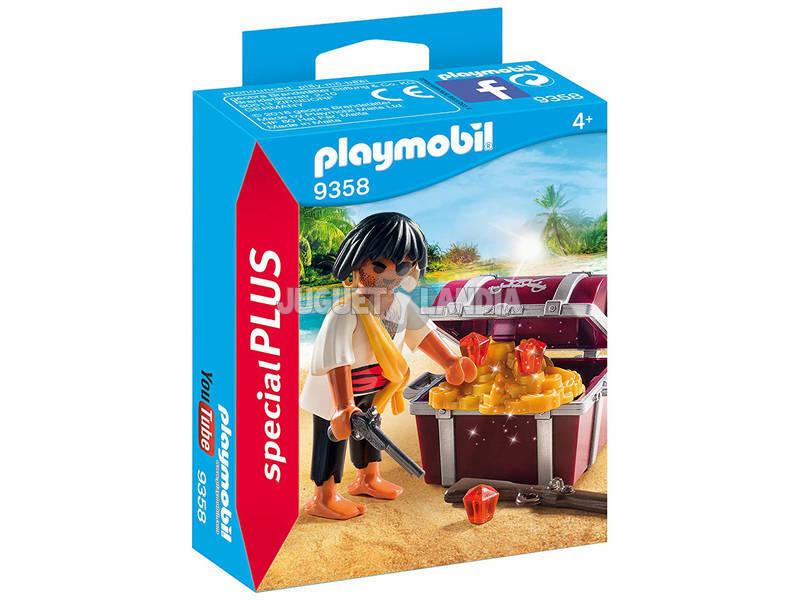 Playmobil Pirata com Cofre do Tesouro 9358