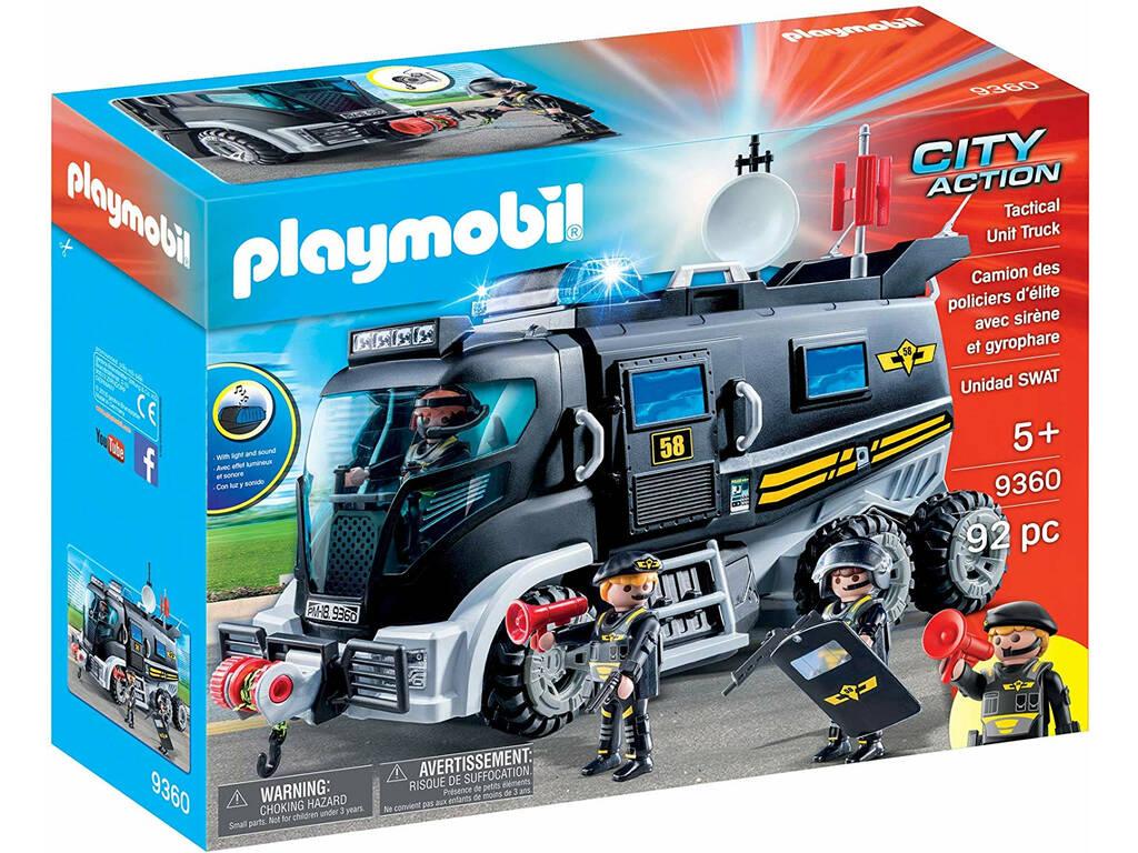 Playmobil City Action Veicolo Unità Speciale con luci e suoni 9360
