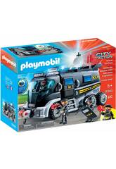 Playmobil Vehículo Misión Especial con Luz Y Sonido 9360
