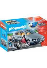 Playmobil Voiture Civile des Forces Spéciales 9361