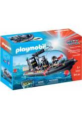 Playmobil Lancha de las Fuerzas Especiales 9362
