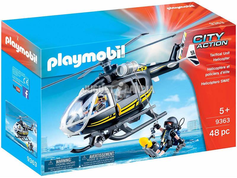 Playmobil Hélicoptère des Forces Spéciales 9363
