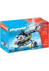 Playmobil City Action Elicottero Unit
