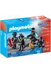 imagen Playmobil Equipo de las Fuerzas Especiales 9365