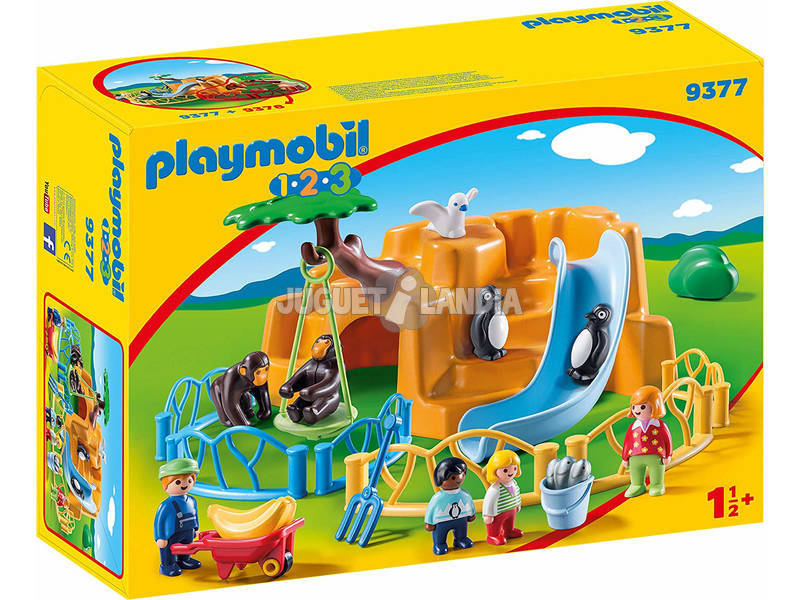 Playmobil 1,2,3 Zoo 9377
