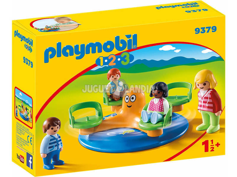Playmobil 1.2.3 Giostra dei bambini 1.2.3 9379