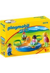 imagen Playmobil 1,2,3 Carrusel Infantil 9379