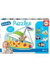 Baby Puzzle Veículos 2 Educa 18059