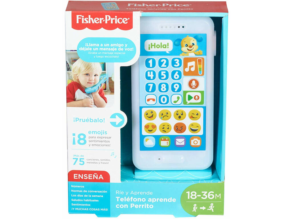 Fisher Price Telefono Aprende Com Cãozinho Mattel FPR17