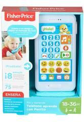 Fisher Price Teléfono Aprende Con Perrito Mattel FPR17