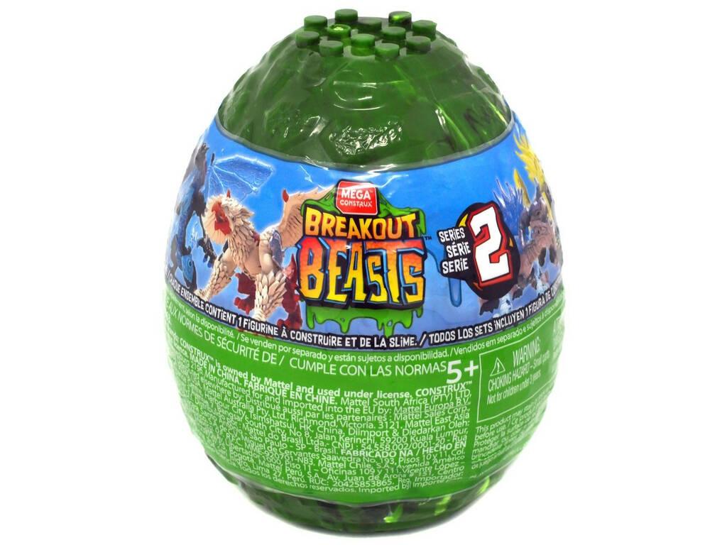 Breakout Beasts Ovo com Figura y Slime Serie 2 Mattel GCK31
