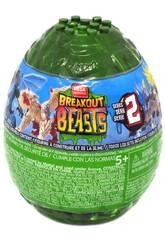 Breakout Beasts Huevo con Figura y Slime Serie 2 Mattel GCK31