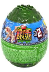 Breakout Beasts Oeuf avec Figurine et Slime Série 2 Mattel GCK31