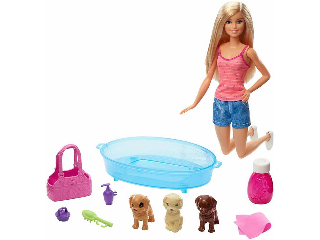 Barbie com Cãezinhos Mattel GDJ37