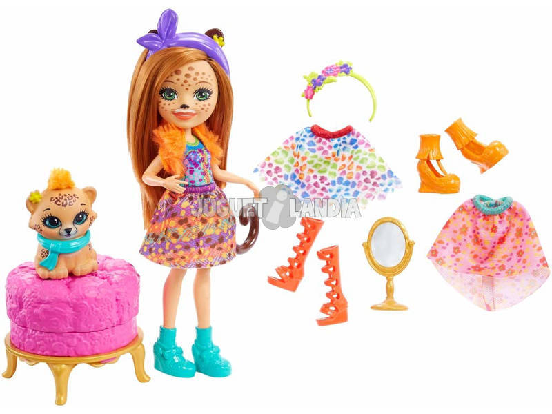 Enchantimals Moda Divertente Mattel FRT87