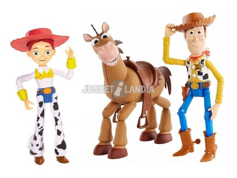 Toy Story 4 Pack de 3 Figurines Mattel GKF63