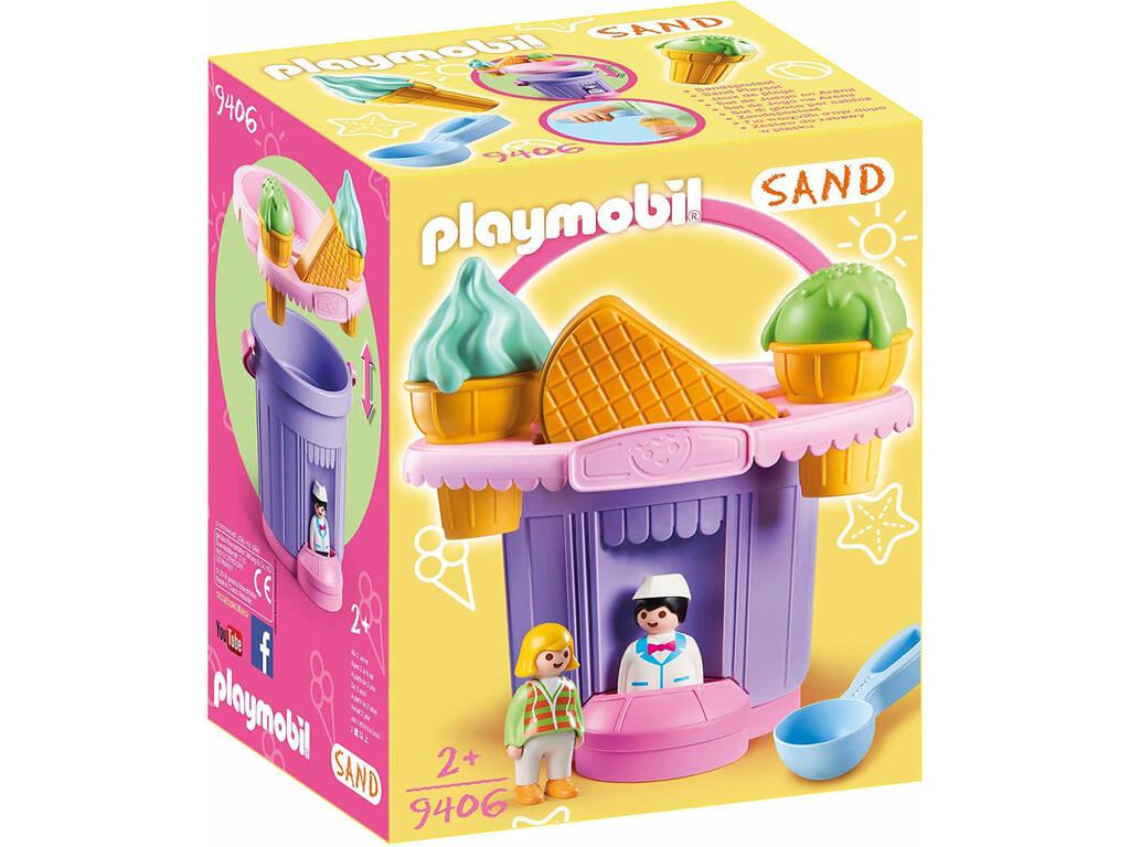 Playmobil Balde de Areia 'Gelataria' 9406
