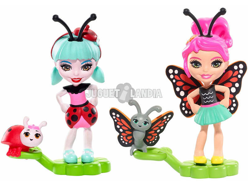 Enchantimals Bichiamigas Mattel FXM86
